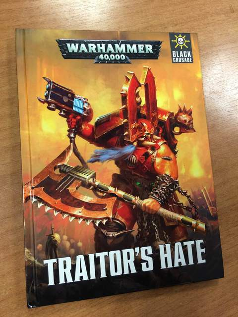 traitor's hate - teaser - GW