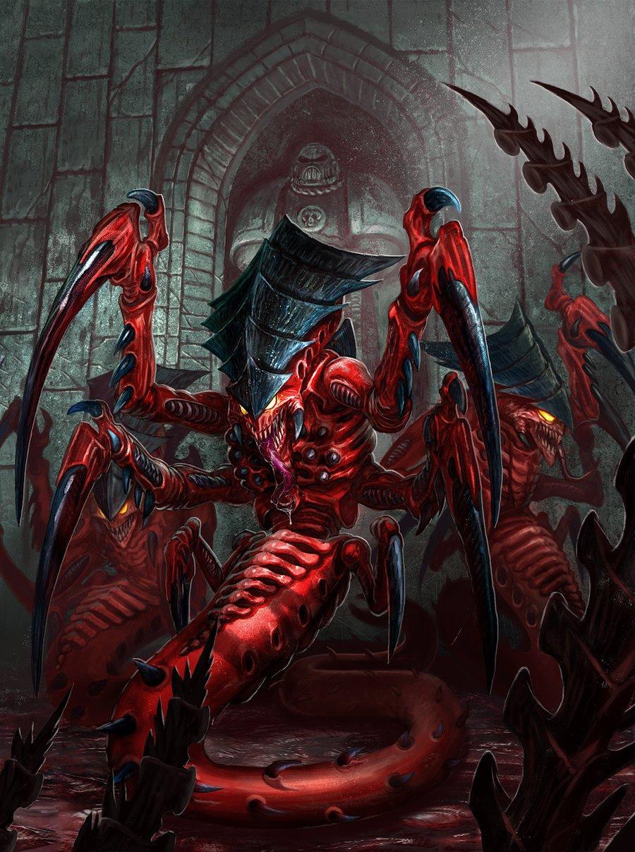 tyranid_raveners___warhammer_40k_emperor_s_chosen_by_jubjubjedi-d6hkznk