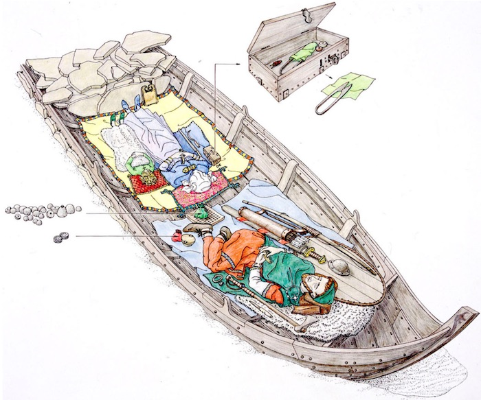 viking burial games