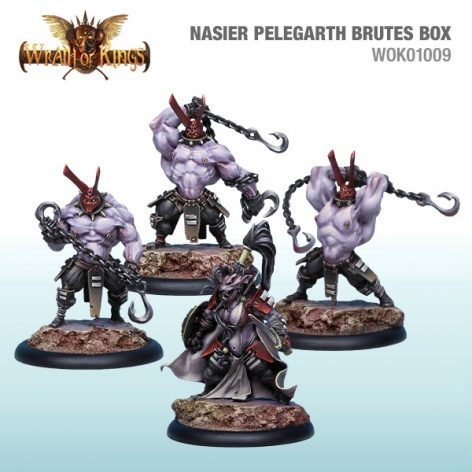 wrath of kings nasier Pelegarth Brutes