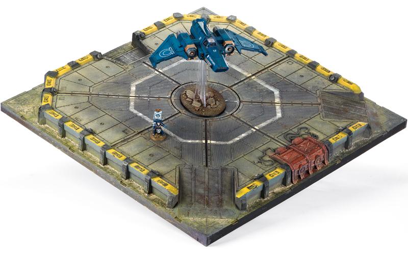 Imperialis Landing Pad Foreg World