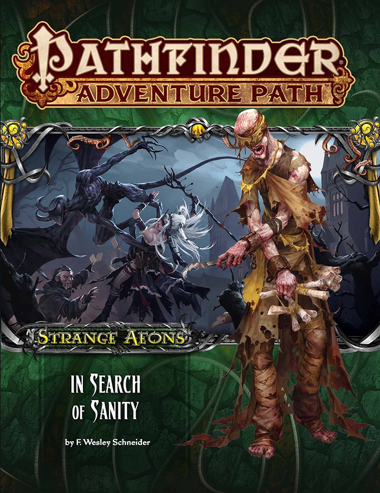 pathfinder search for sanity