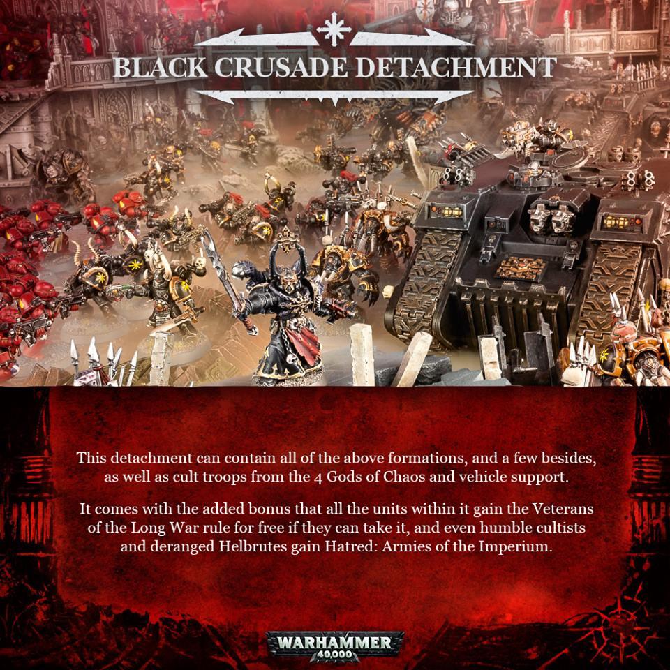 Black Crusade Detatchment