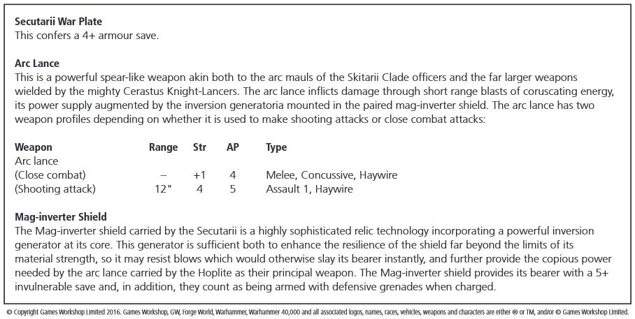 Secutarii Hoplite Rules Preview
