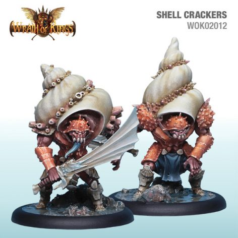 Wrath of Kings Hadross Shell Crackers