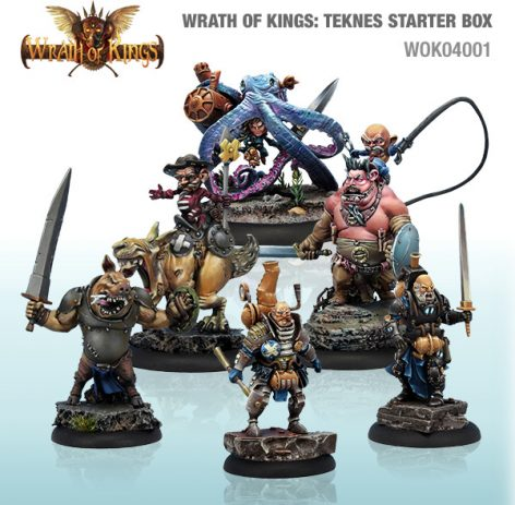 Wrath of Kings Teknes starter