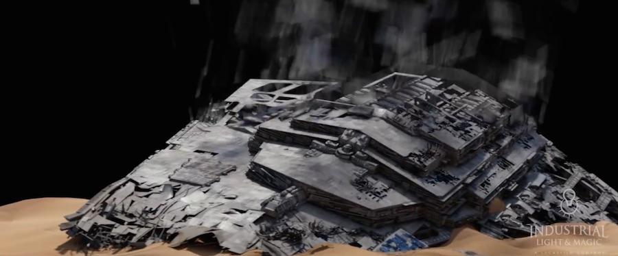 empire ship ILM star wars