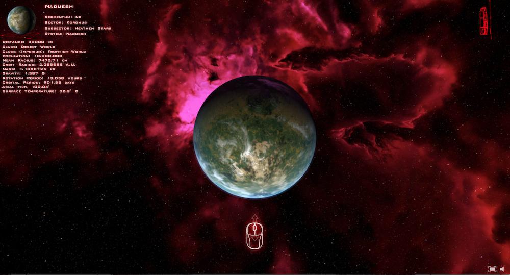 glaxy-40k-planet