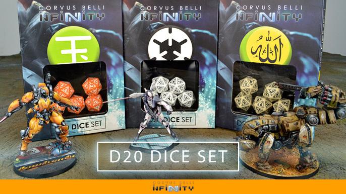 Infinity D20 Dice