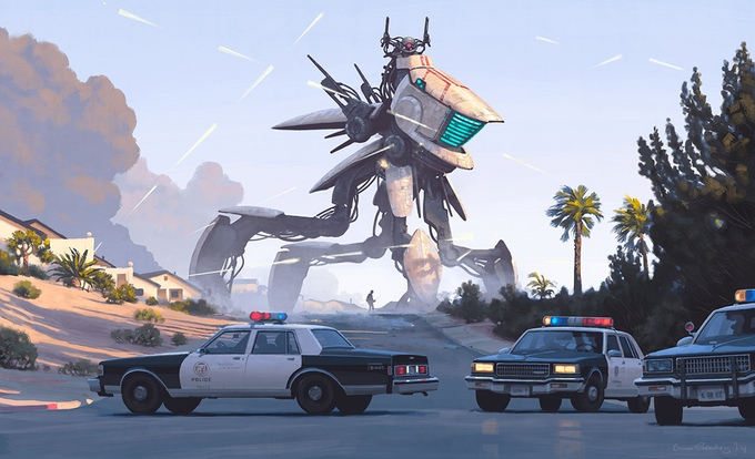 mech police tales from the loop