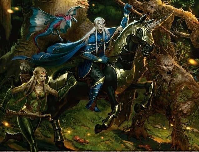feywild eladrin dungeons dragons