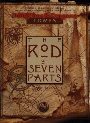 rod of seven parts dungeons and dragons