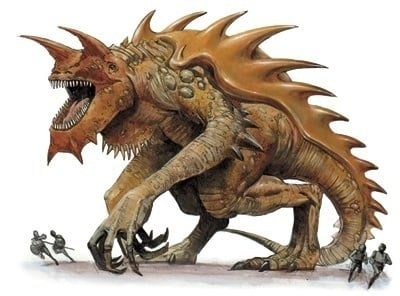 tarrasque dungeons dragons monster