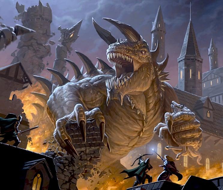 D&D: Monster Spotlight - The Tarrasque - Bell of Lost Souls