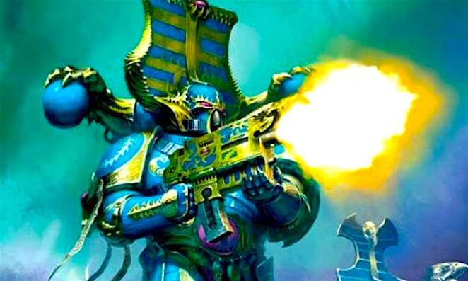 View Warhammer Thousand Sons Art Pics