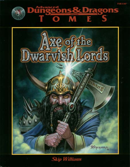 dungeons and dragons axe of the dwarvish lords