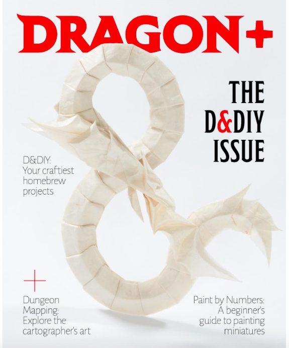 dragon issue eleven cover