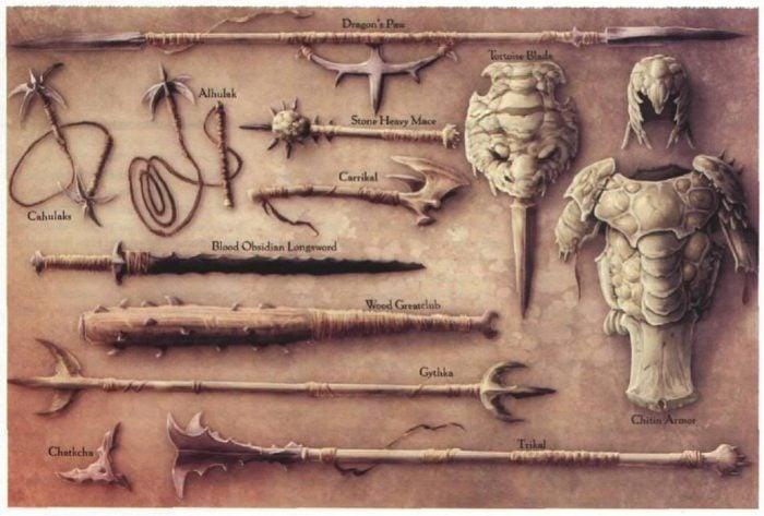 dark sun weapons
