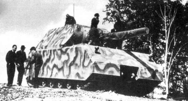 panzer maus historical