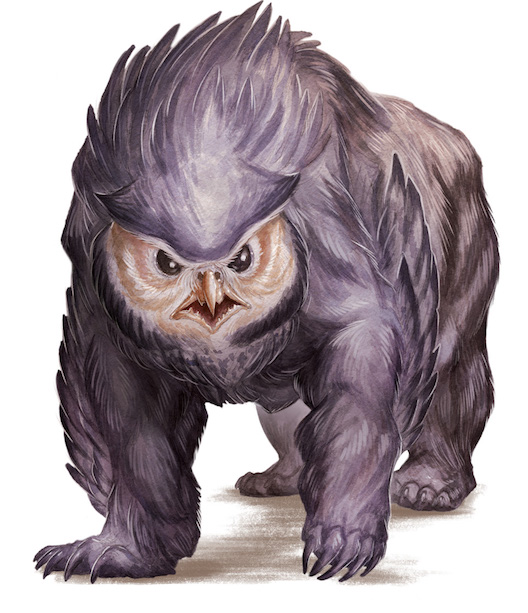 5th edition owlbear