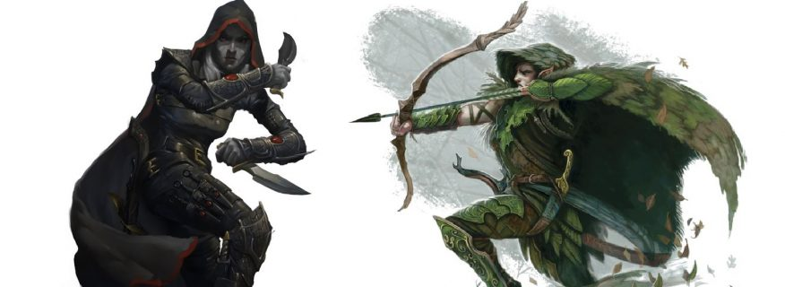 D&D: Grave Clerics, Rogue Scouts, and Barbarian Sneak Peeks - Bell