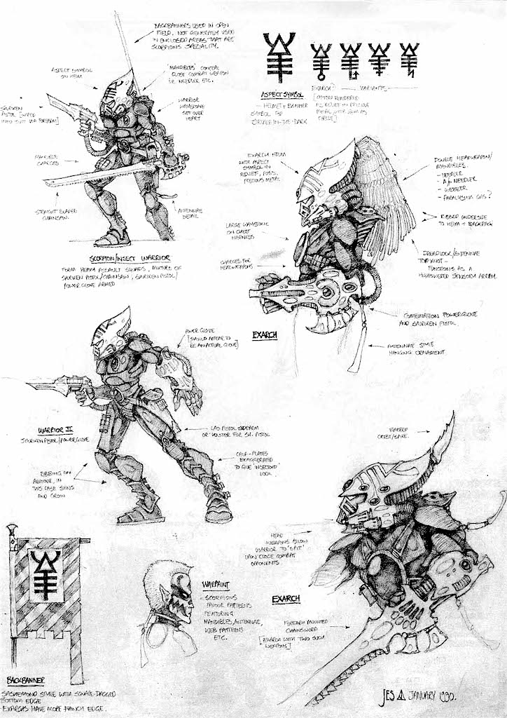 striking-scorpion-sketch
