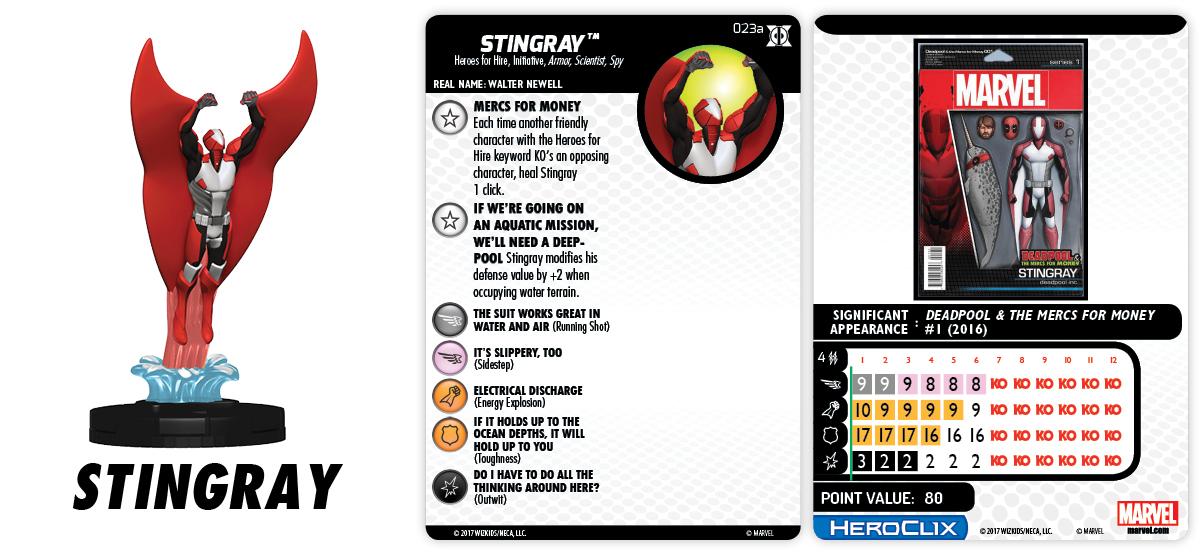 023a-Stingray heroclix
