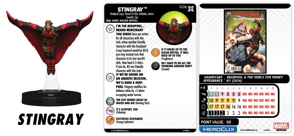 023b-Stingray heroclix