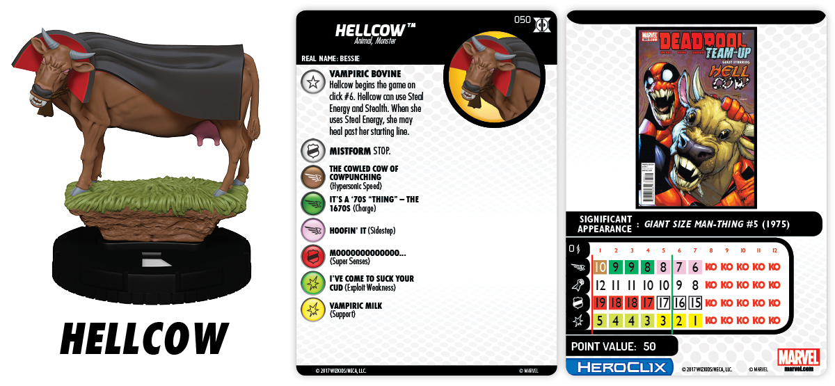 050-Hellcow heroclix