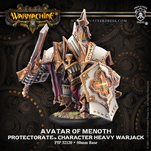 Bell of Lost Souls Warmachine Best of the Best Damage Grid Avatar of Menoth