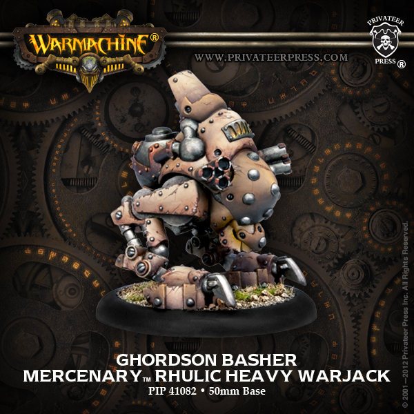 Bell of Lost Souls Warmachine Best of the Best Damage Grid Ghordson Basher