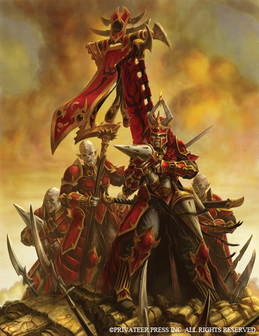 Bell of Lost Souls Warmachine Skorne Reivers