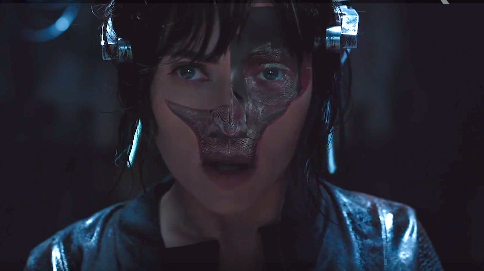 ghost in the shell skin