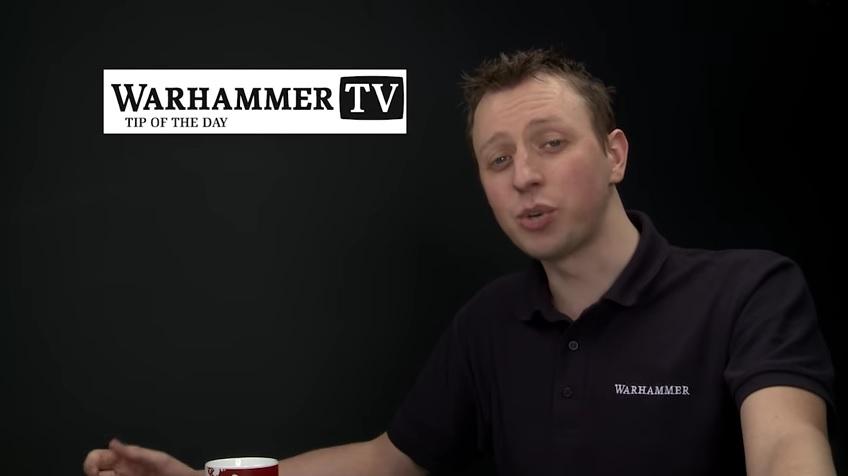 Warhammer TV Duncan painting