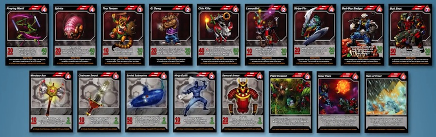 beast clan cards 2
