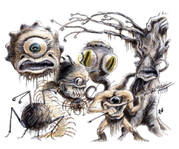 D&D Monster Spotlight: The Beholder - Bell of Lost Souls