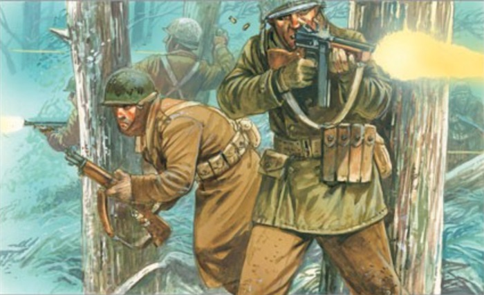 bolt action winter US