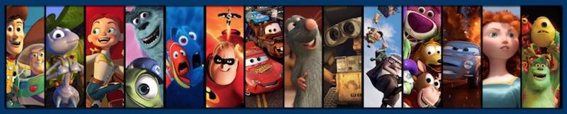 pixar movies wide