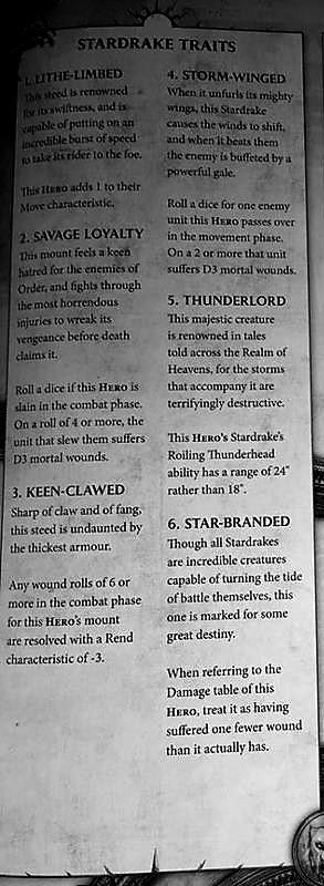 stardrake rules 1