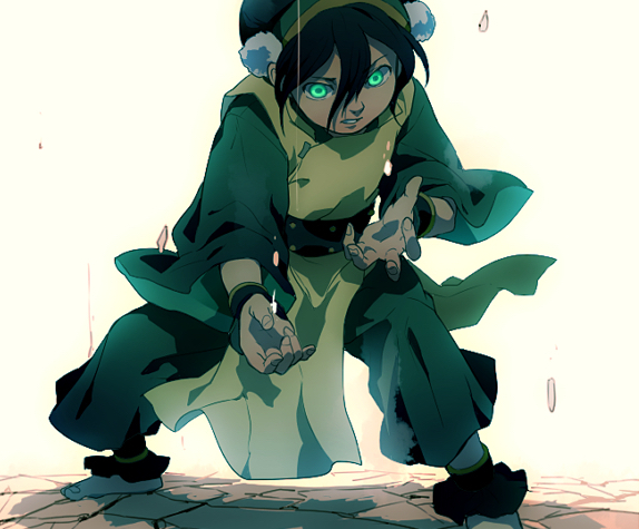 toph earth bend