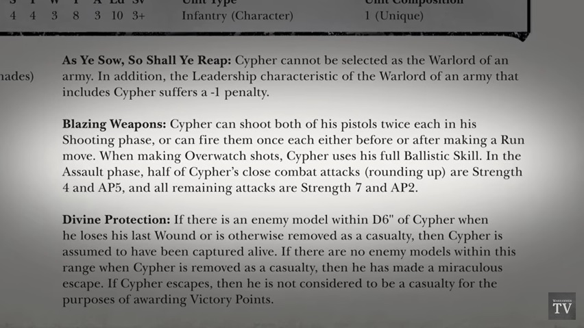 40K: Cypher - A Closer Look - Bell of Lost Souls
