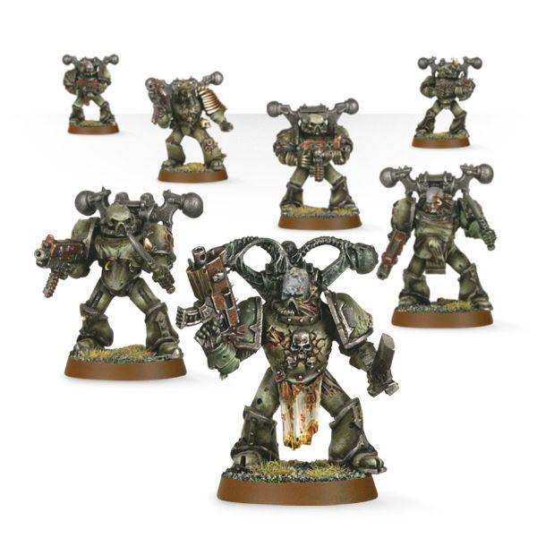 D Death guard Head 40k - Plague Marines-Chaos Space Marines