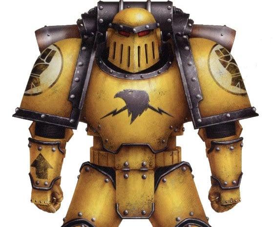 40K Lore: Mk III Iron Armor