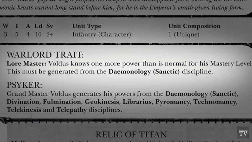 40K: Grand Master Voldus - A Closer Look - Bell of Lost Souls