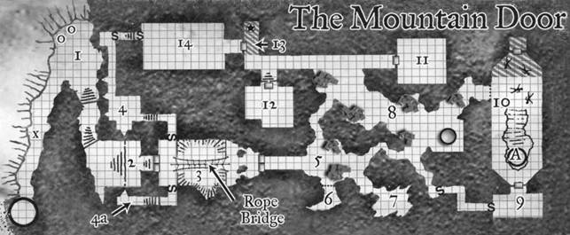 It's just a photo of Sunless Citadel Printable Map with illustration