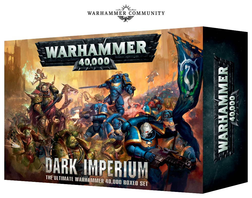 Unboxing: Warhammer 40K: Dark Imperium Starter Set - Bell of Lost Souls