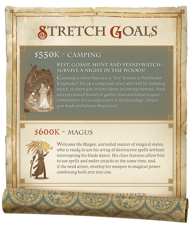 Pathfinder Kingmaker - Stretch Goals fit for a King - Bell of Lost Souls