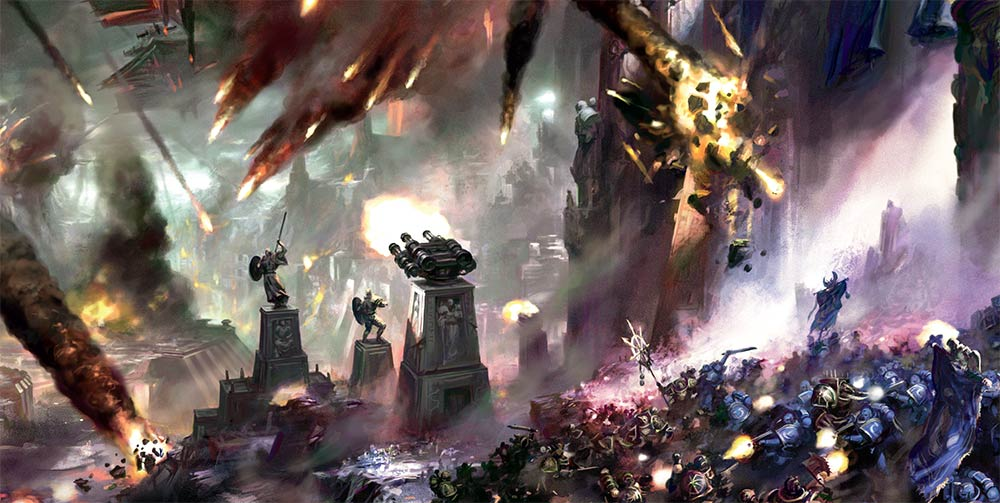 40K: Bring On The Chapter Approved Apocalypse - Bell of Lost