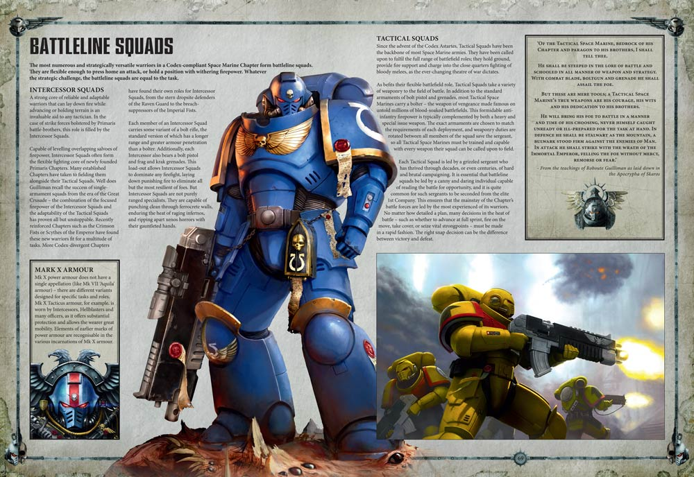 Space Marines New Minis, Lock & Load Reveals & FFG - Bell of