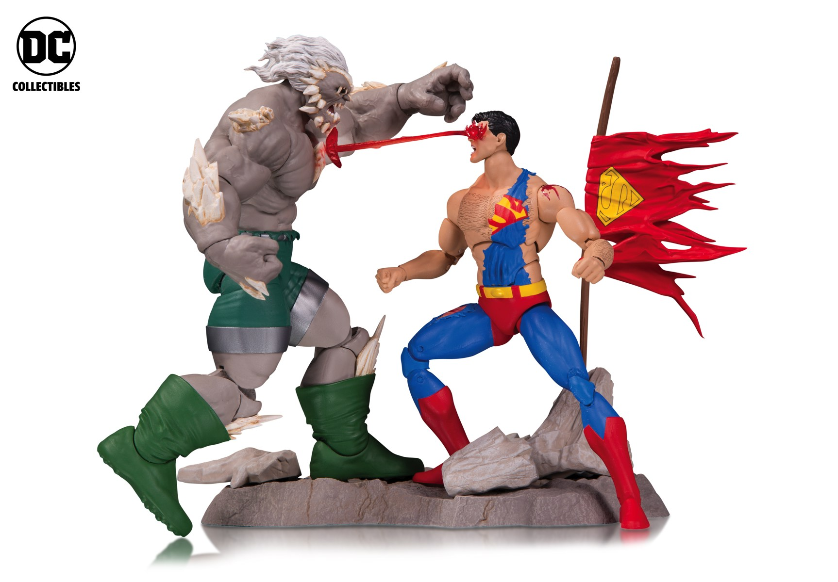 Toyland Dc Collectables Releasing Death Of Superman Figures